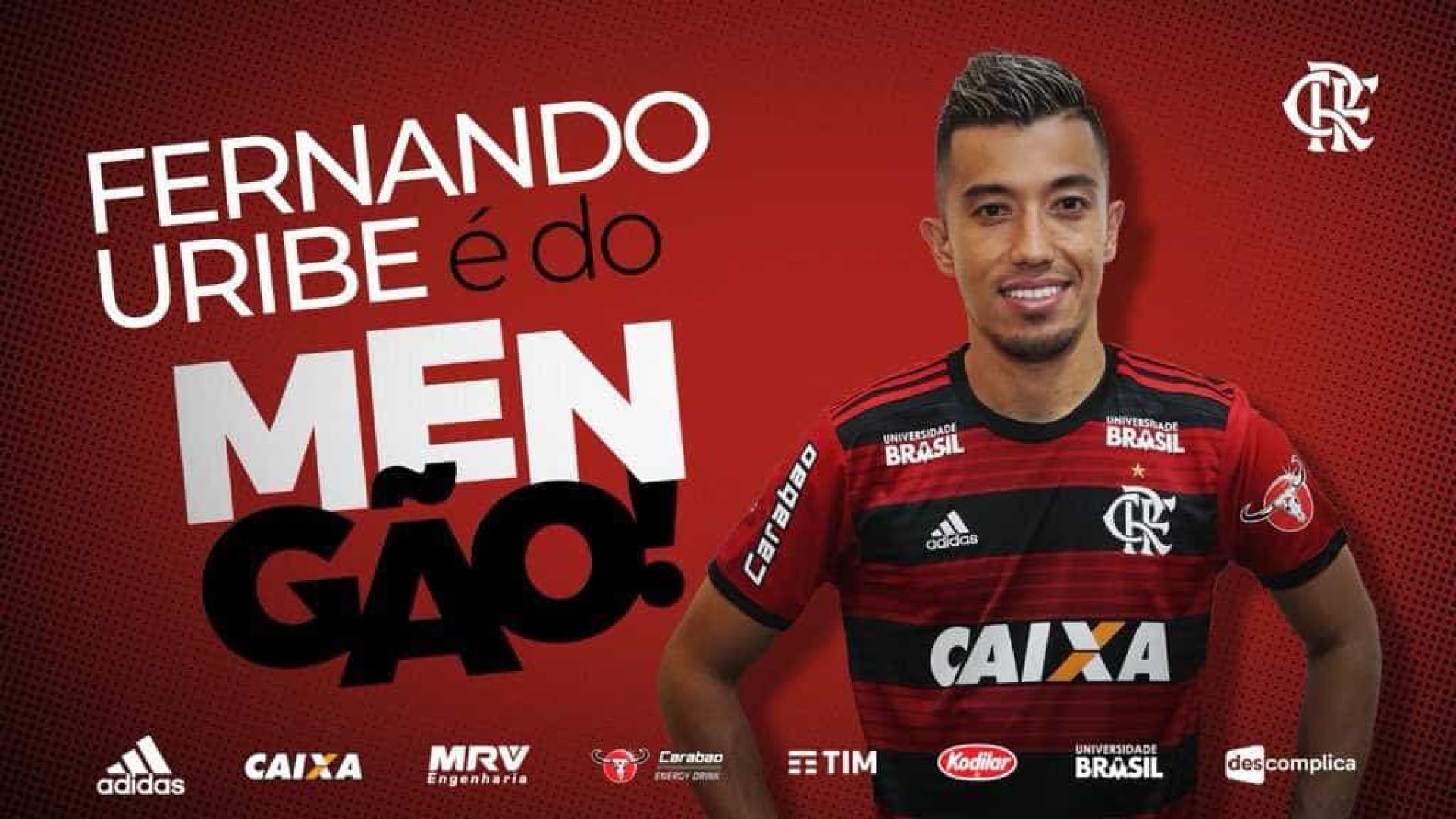 Flamengo anuncia contratação de atacante estrangeiro