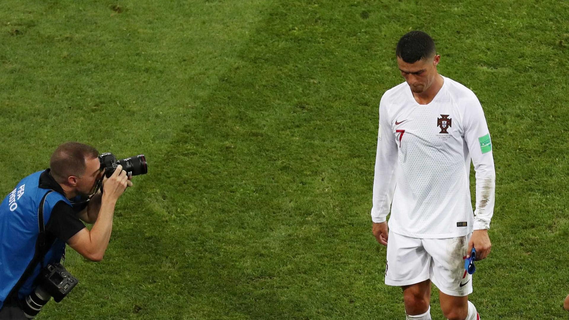 Eliminados, CR7 e Messi seguem sem marcar em mata-mata de Copa