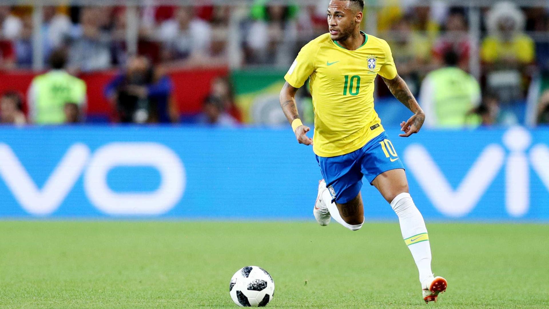 Brasil encara Estados Unidos com Neymar como capitão