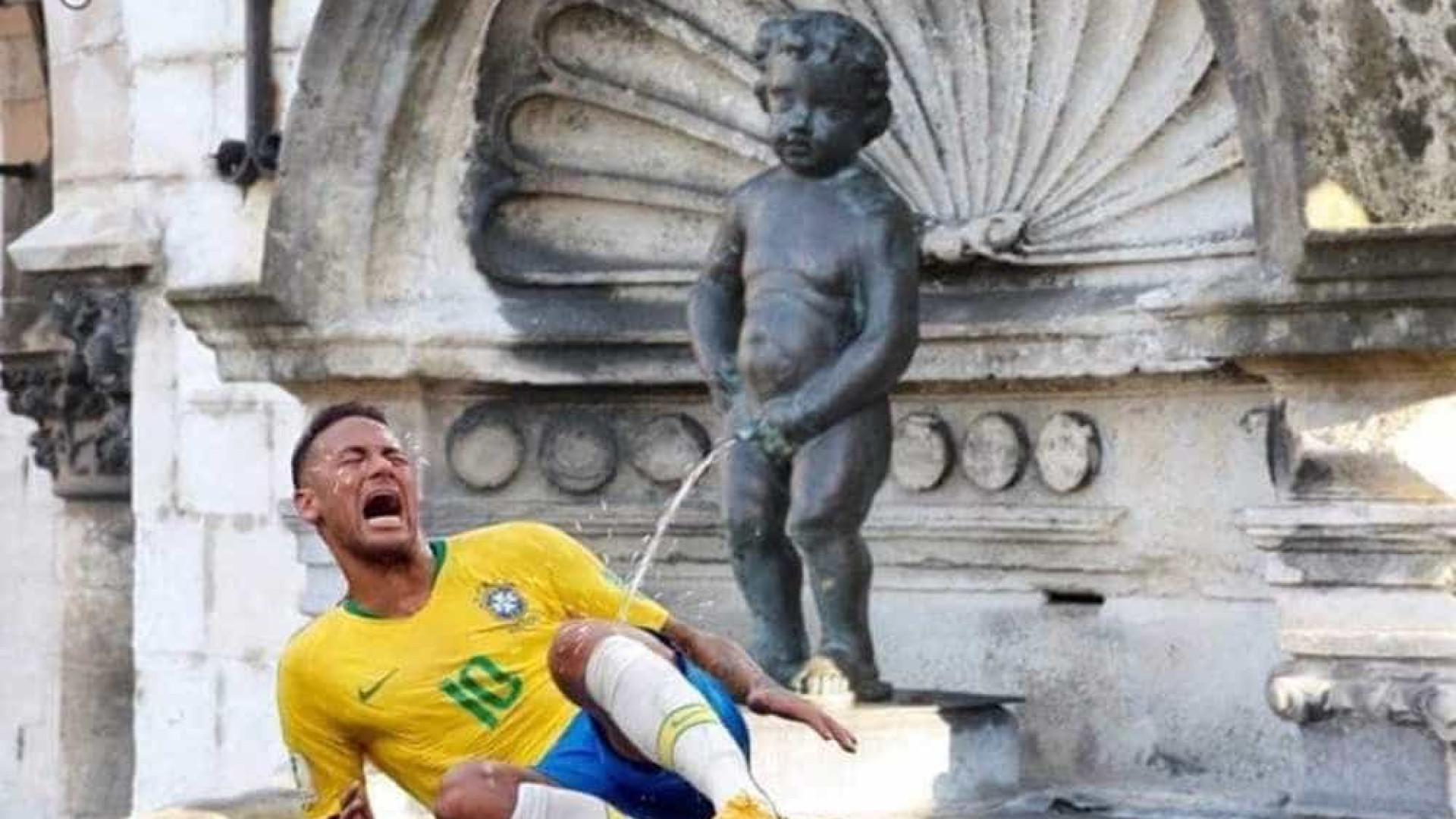 Prefeito belga posta montagem de mau gosto para zombar do Brasil