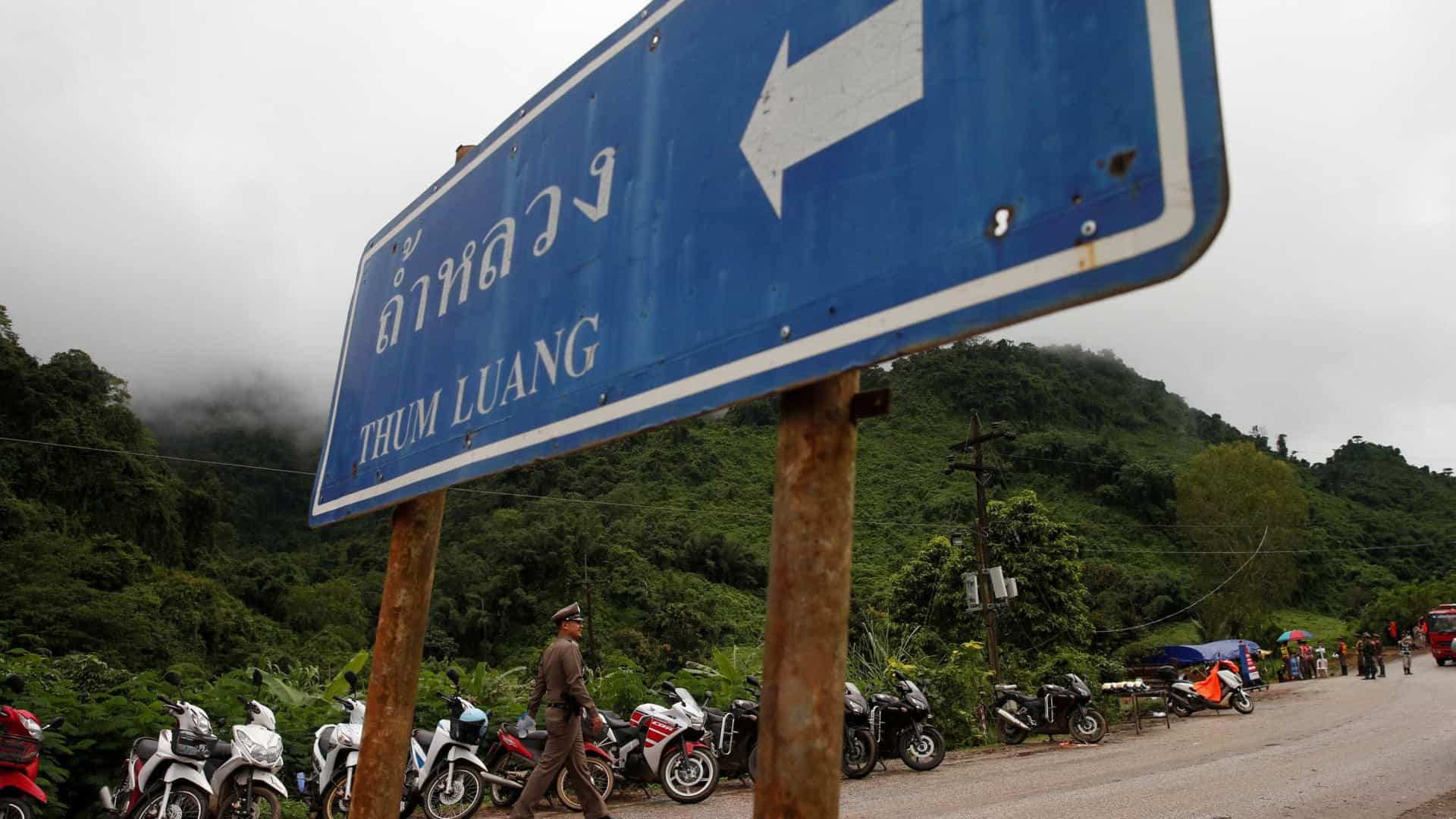 Produtores já planejam filme sobre resgate de meninos na Tailândia
