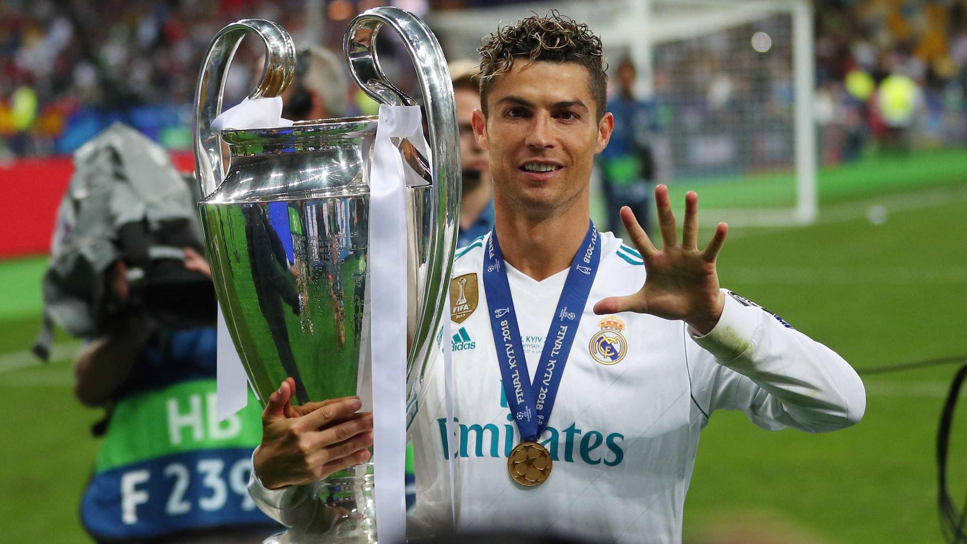 Real Madrid divulga vídeo com grandes momentos de Cristiano Ronaldo