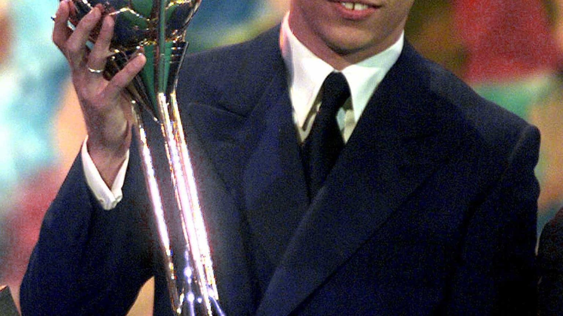 Último 'melhor do mundo' a chegar à Itália foi Ronaldo Fenômeno