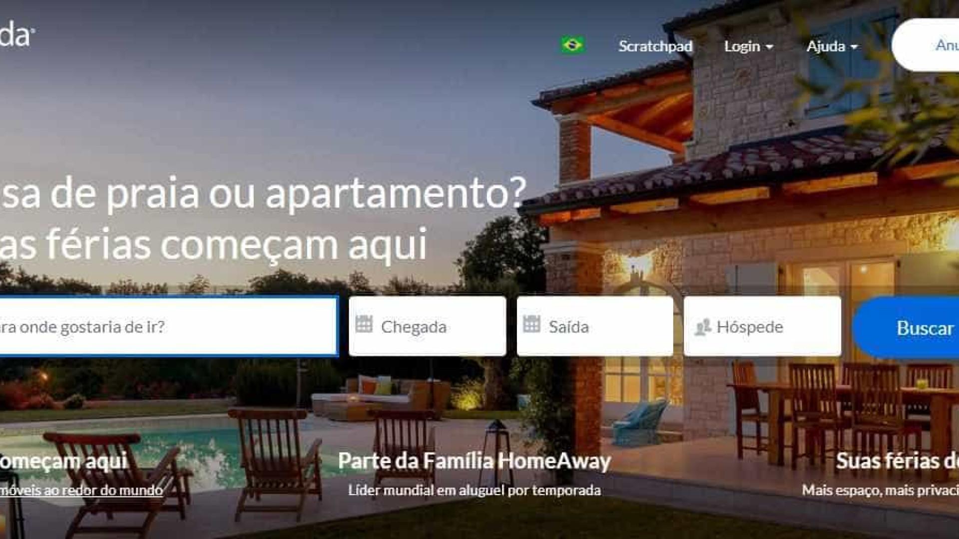 Plataforma de aluguel de imóveis para temporada libera parcelamento