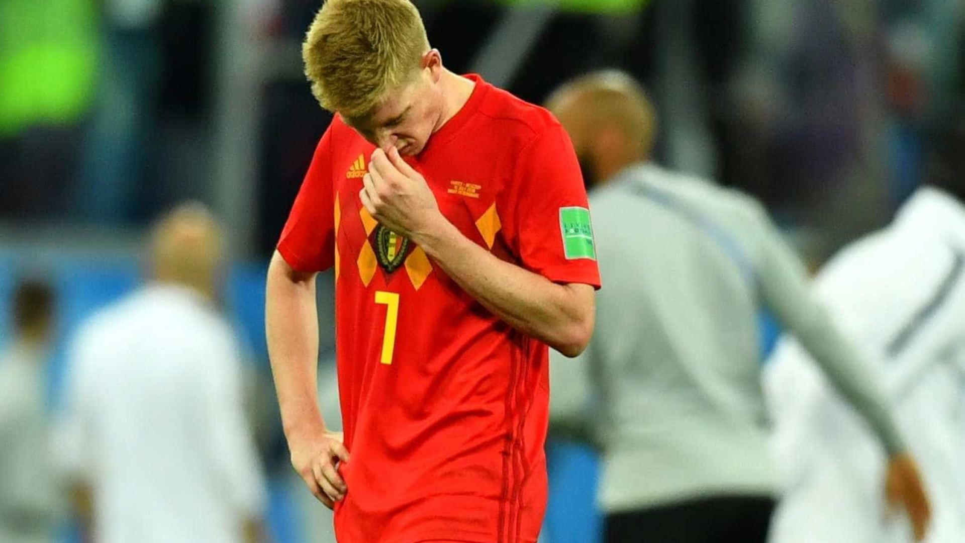De Bruyne lamenta eliminação, mas vê chance de título na Euro-2020