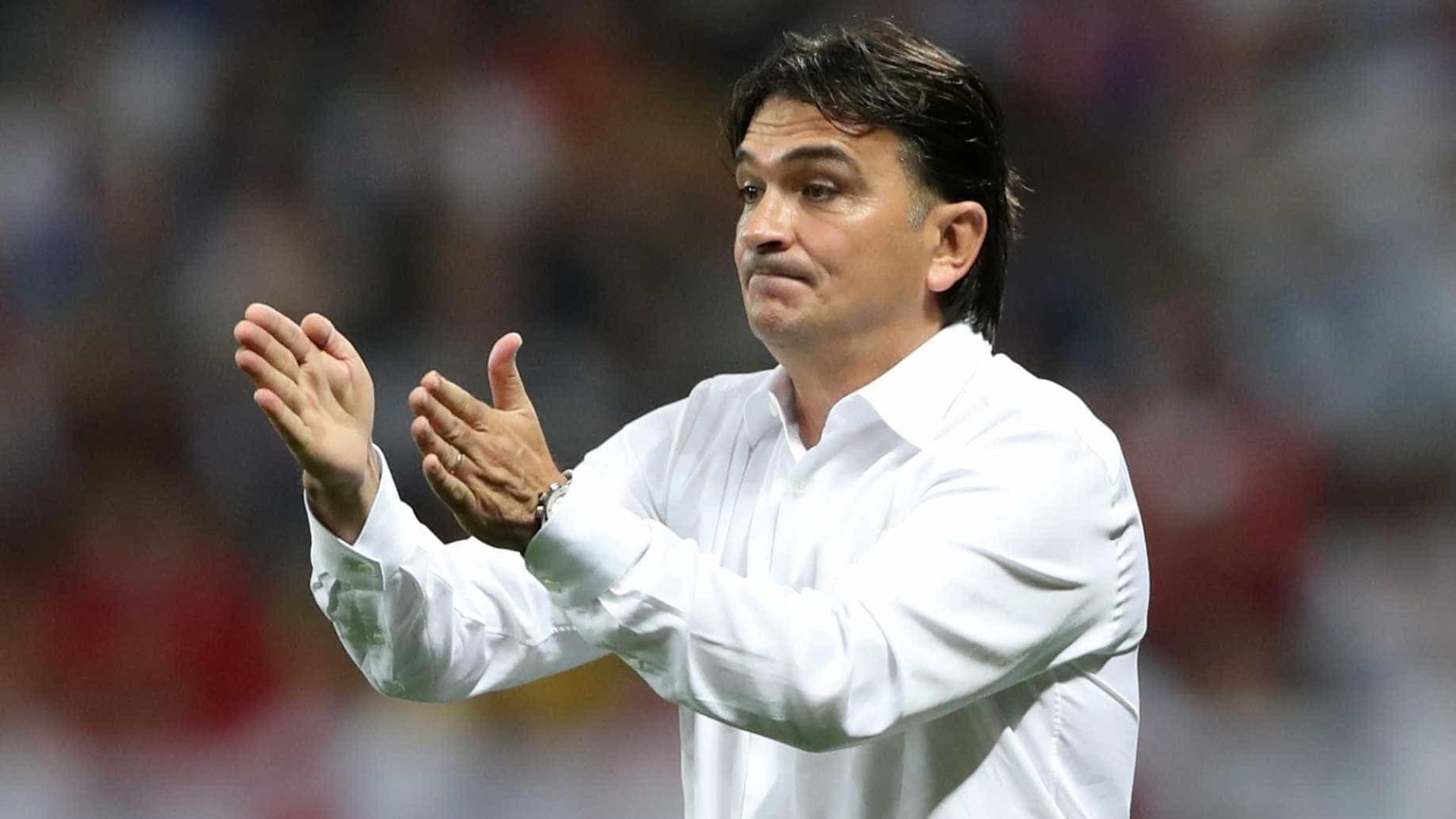 """Técnico da Croácia diz que teve jogador """"com metade da perna"""" na semi"""