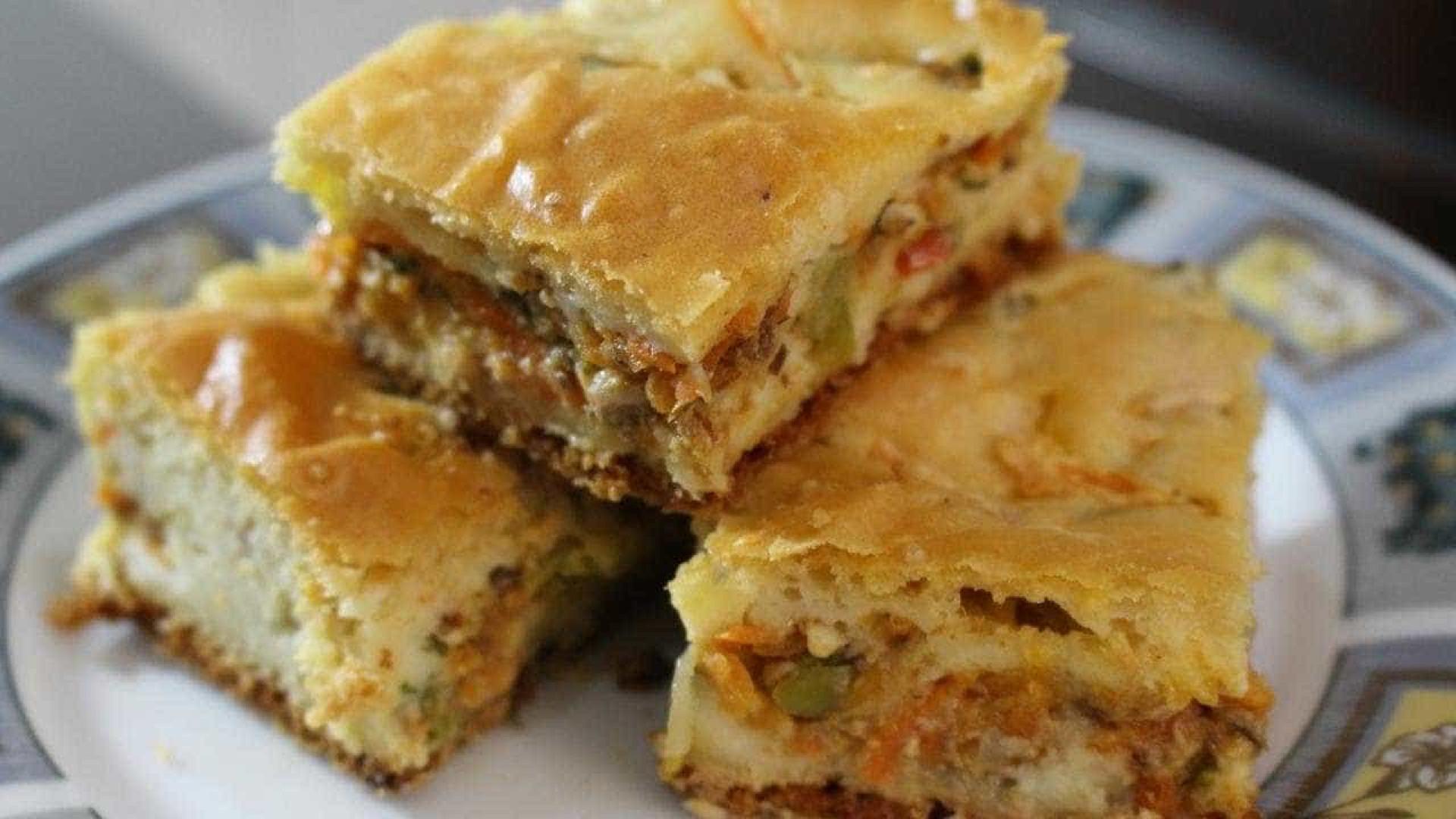 Torta cremosa de sardinha é feita no liquidificador; aprenda