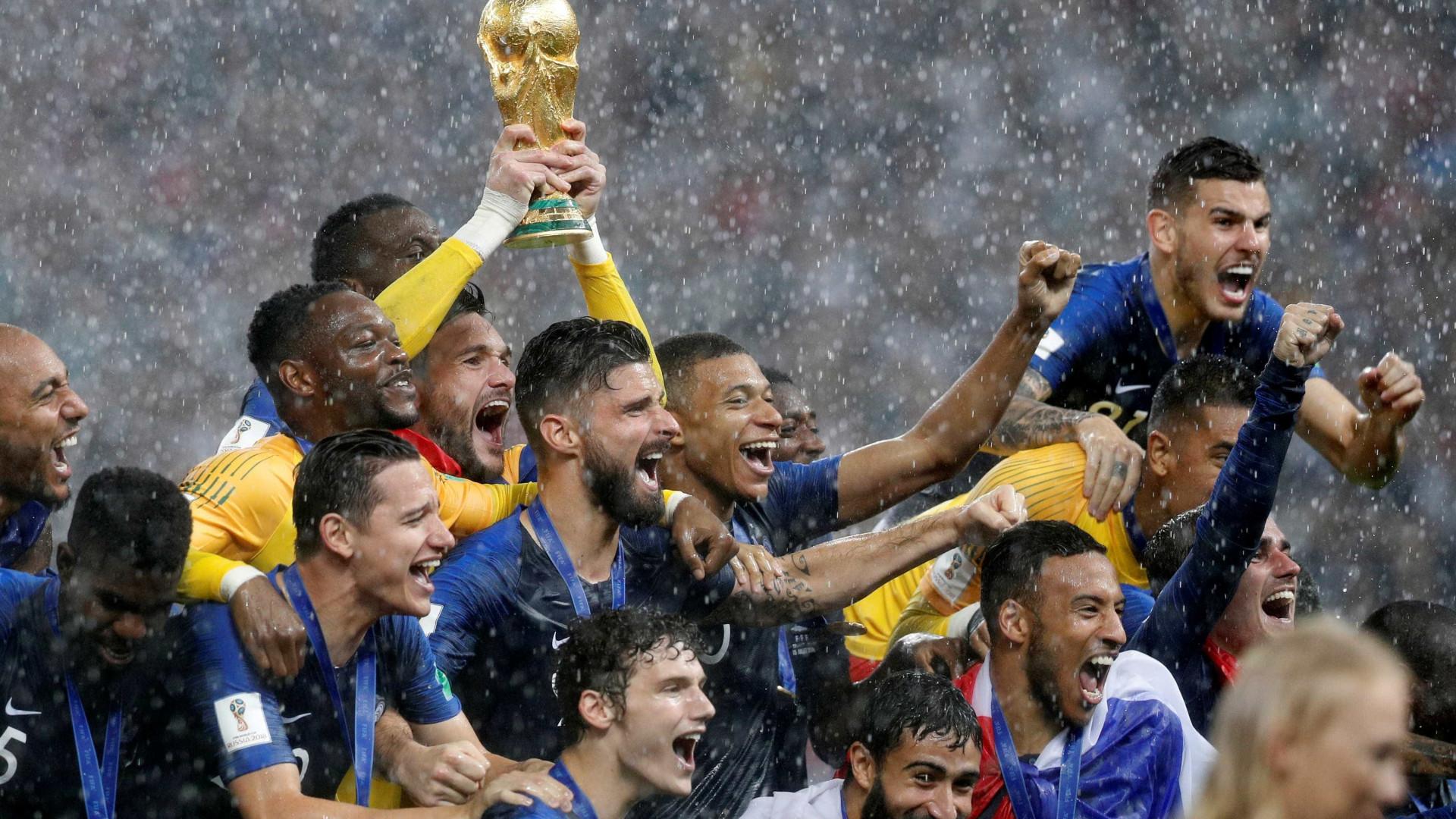 Ranking da Fifa é atualizado: França lidera, Brasil é 3º e Alemanha cai