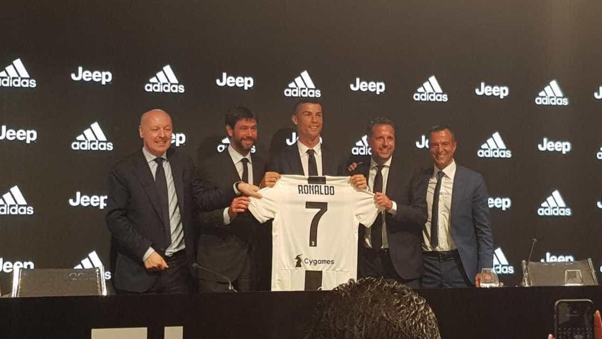 Foi uma decisão fácil, diz Cristiano Ronaldo na apresentação à Juventus