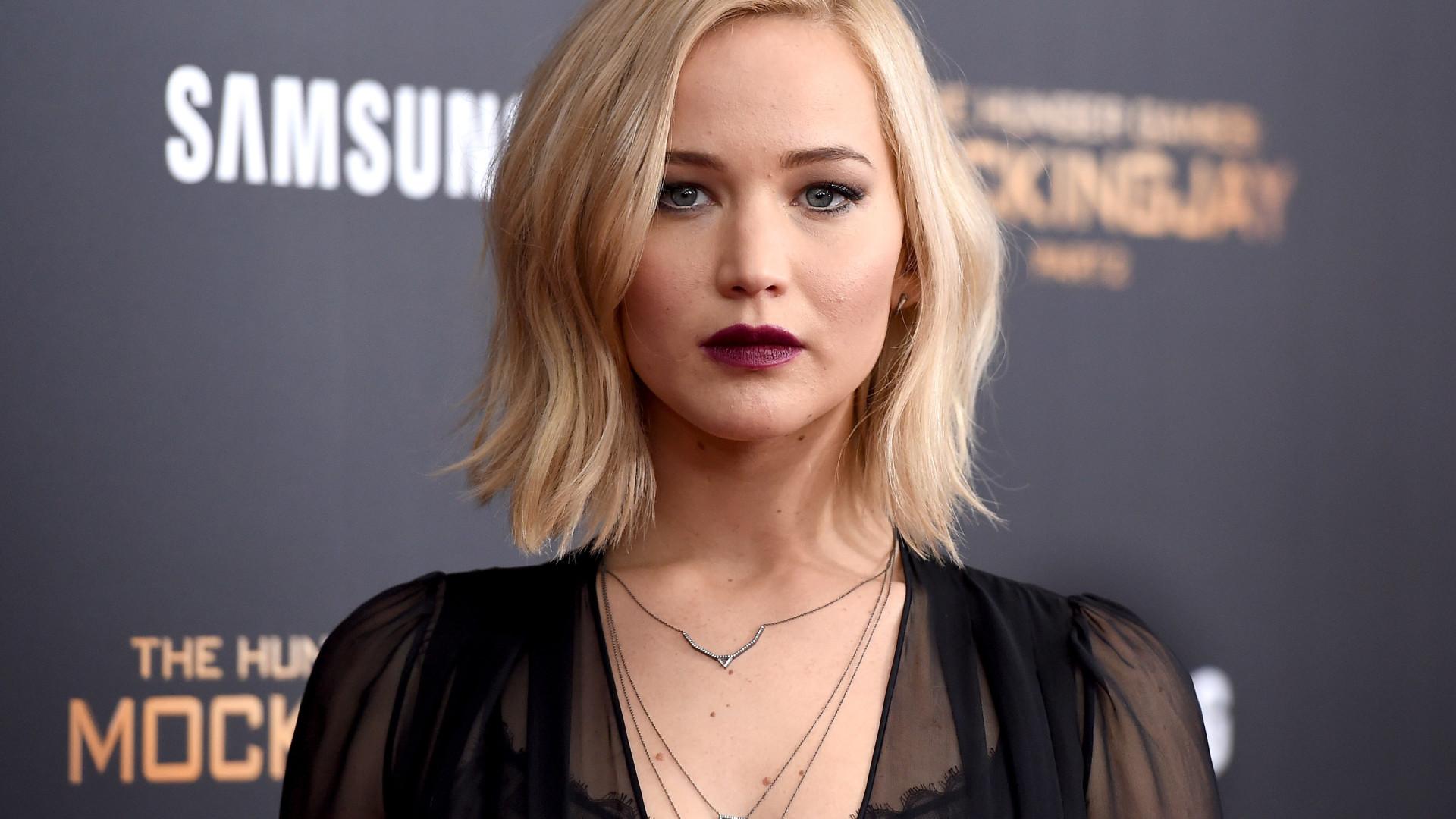 Jennifer Lawrence diz ter objetivo 'curioso' para uso das redes sociais