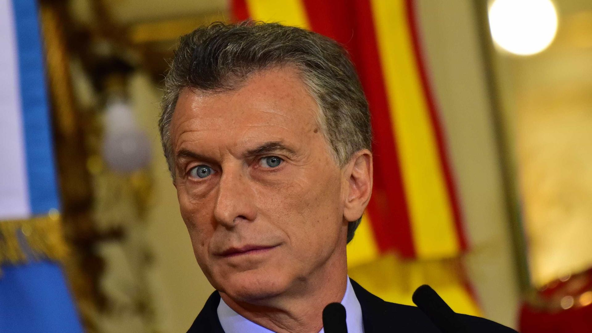 Macri afirma que não vetará lei que descriminaliza aborto