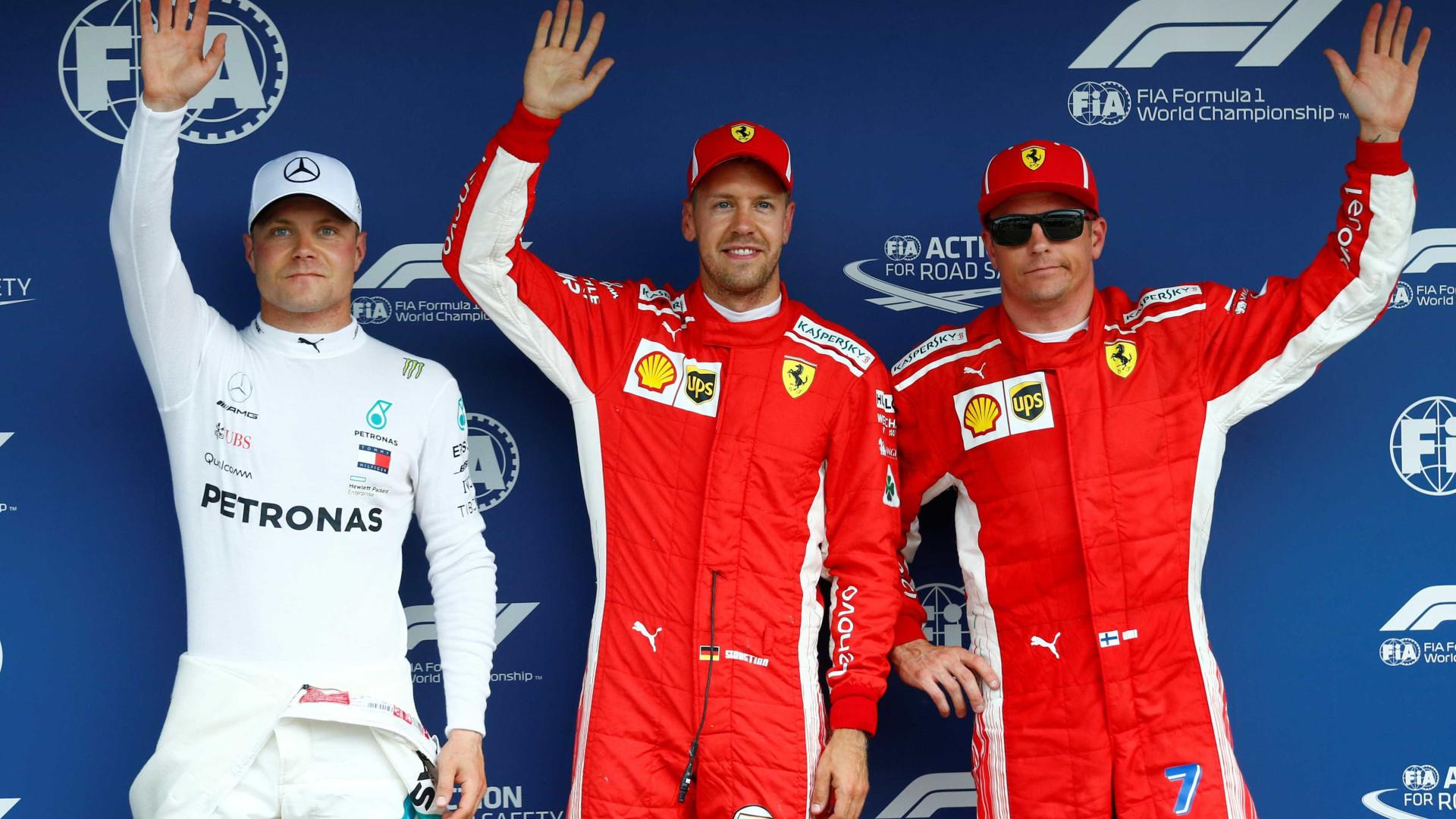 Vettel conquista pole position no GP da Alemanha; Hamilton larga em 14º