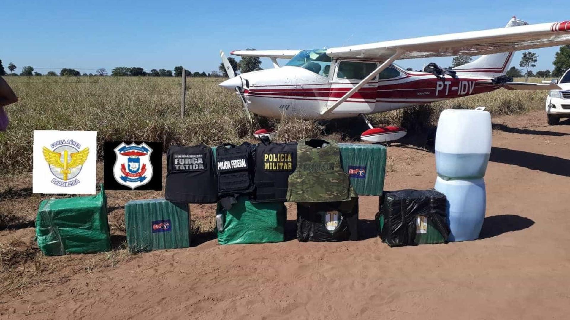 Grupo invade aeroporto e tenta resgatar avião interceptado pela FAB