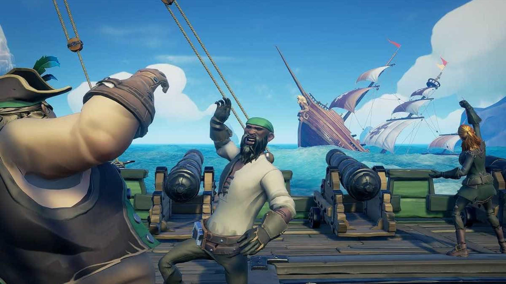 'Sea of Thieves' ultrapassa 5 milhões de jogadores