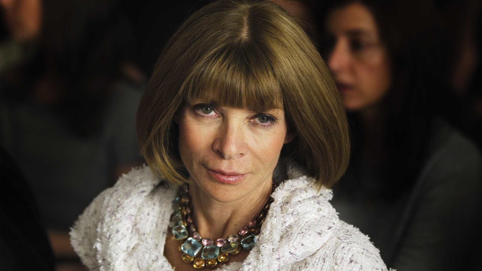 Anna Wintour será editora-chefe da Vogue 'indefinidamente'