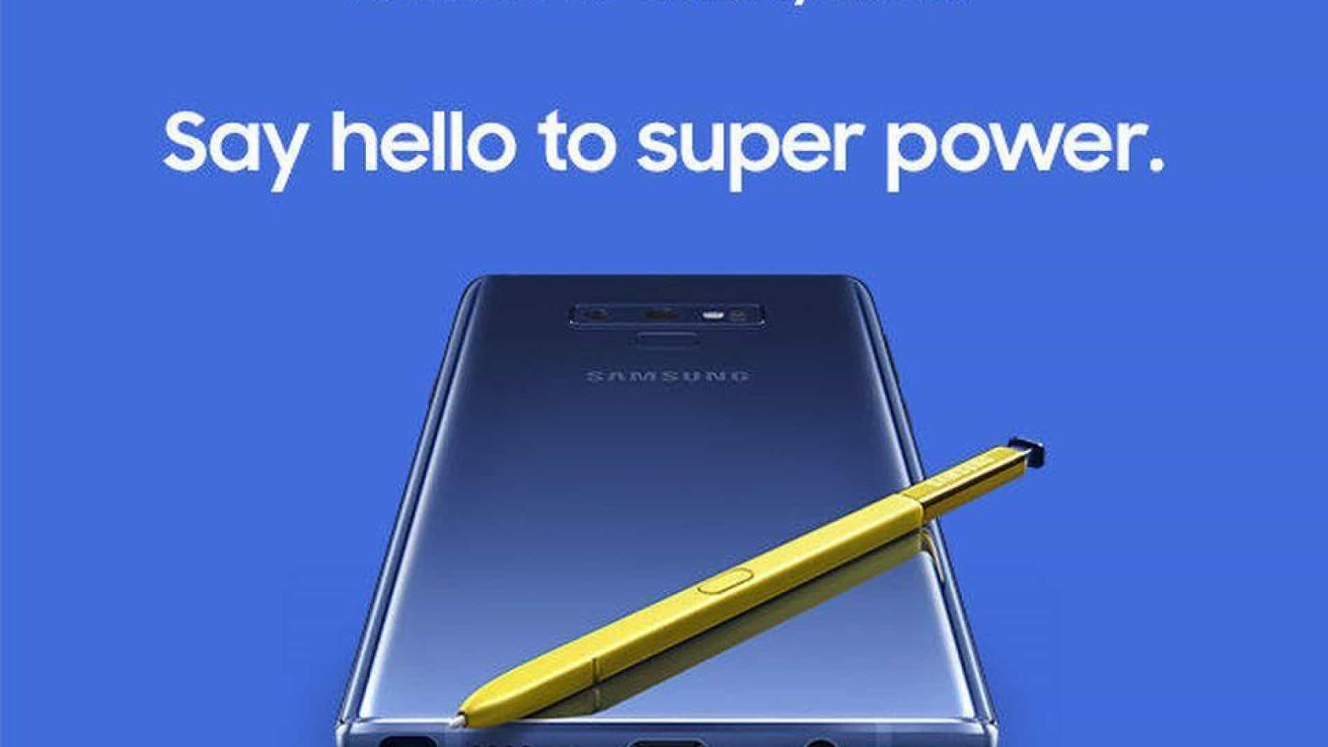 Samsung revela (por acidente) design final do Galaxy Note 9