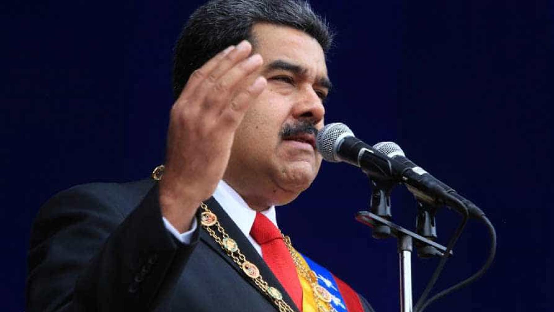 Durante discurso, Maduro é alvo de tentativa de atentado com drone