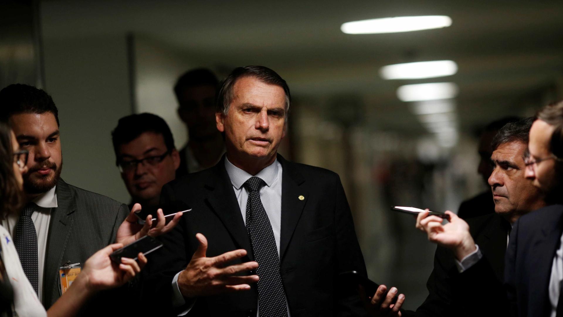 Ação pede que TSE barre candidatura de Bolsonaro
