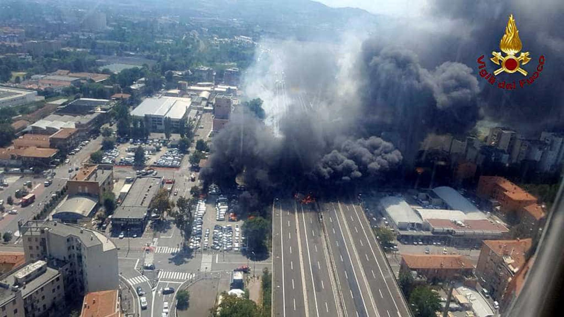 Explosão em Bolonha causou prejuízo de 10 milhões