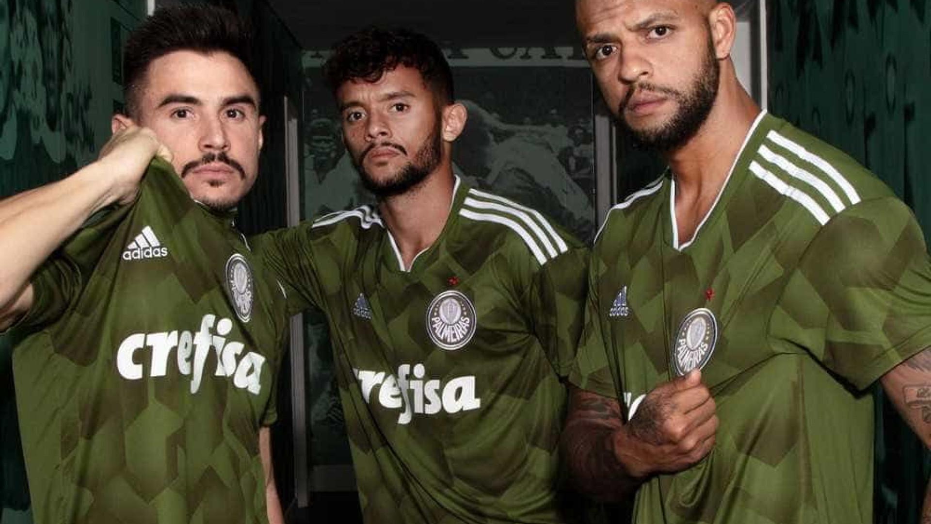 Palmeiras vai estrear terceiro uniforme no próximo domingo