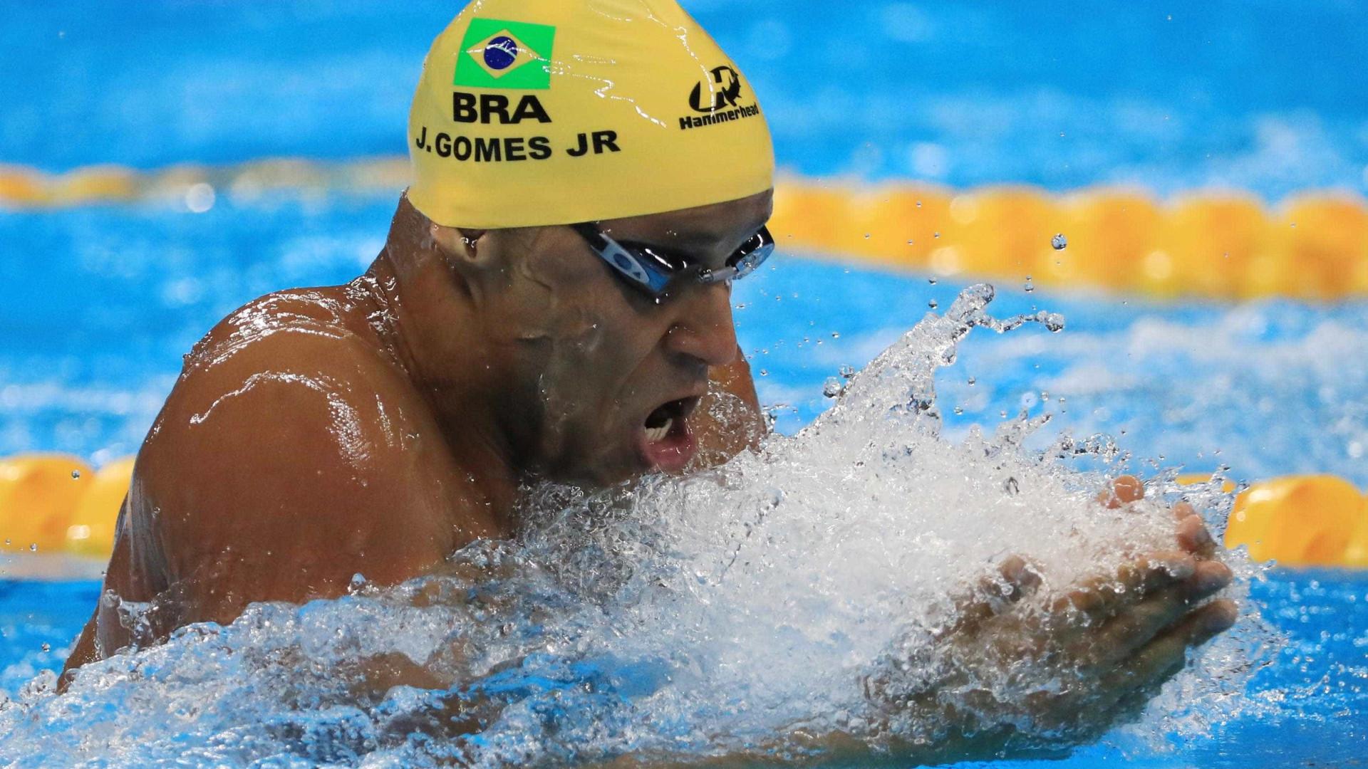 João Gomes fatura bronze nos 100m peito no 1º dia do Pan-Pacífico