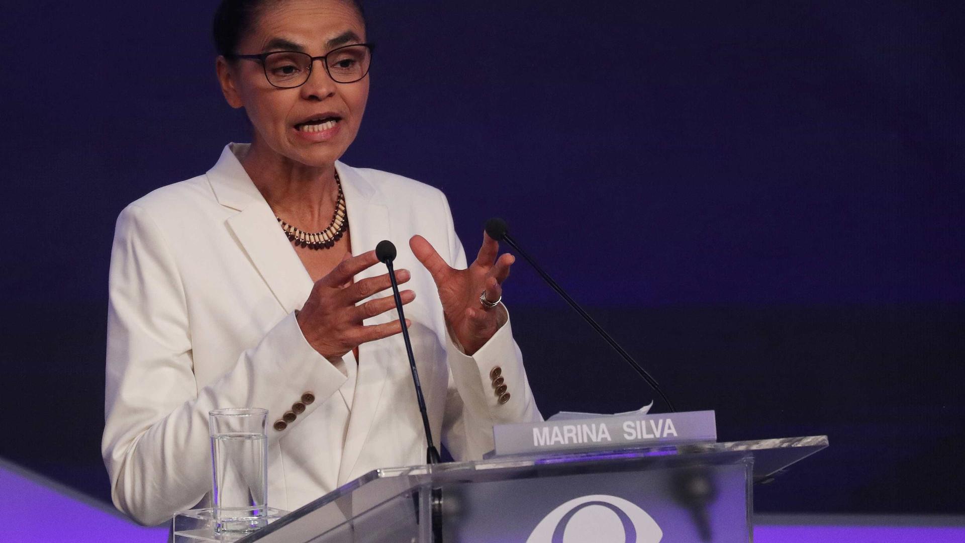 Marina Silva defende plebiscito sobre aborto