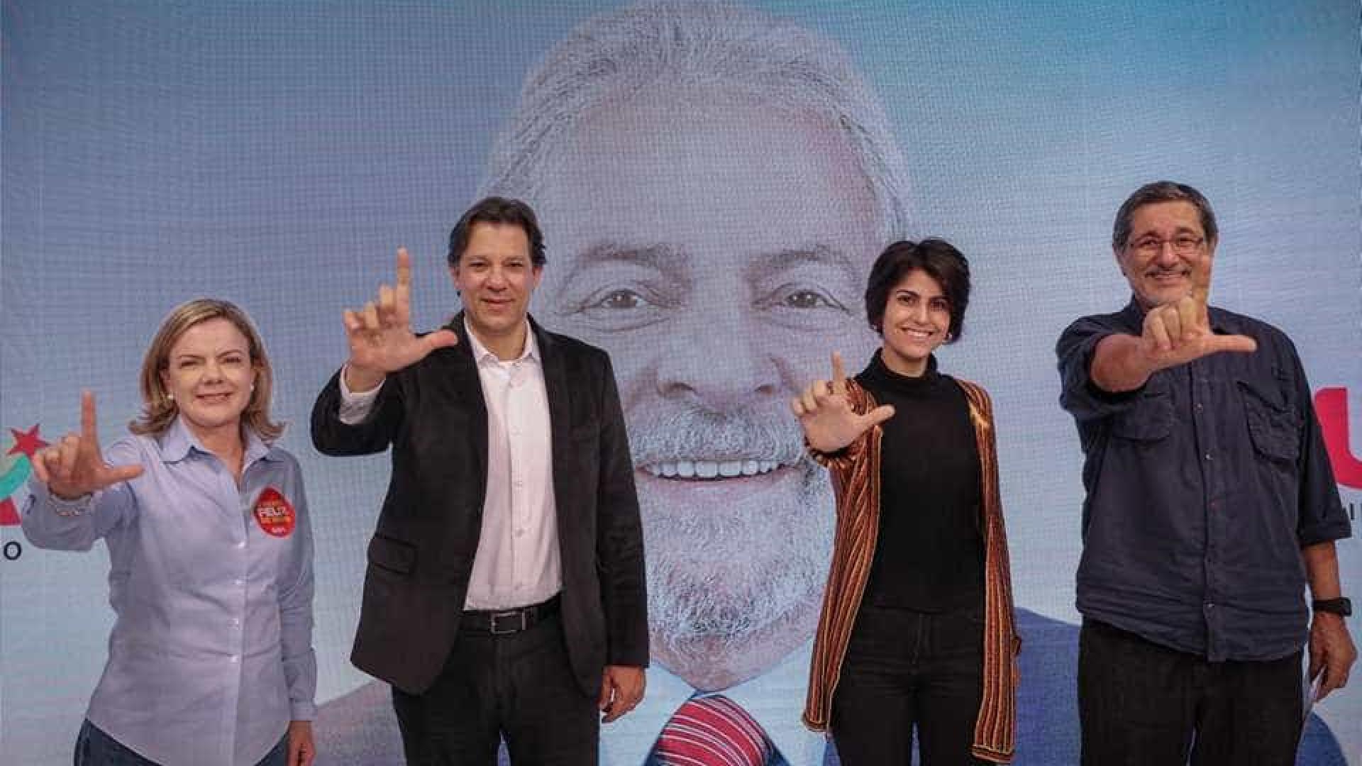Sem Lula, Haddad se une a aliados em debate paralelo
