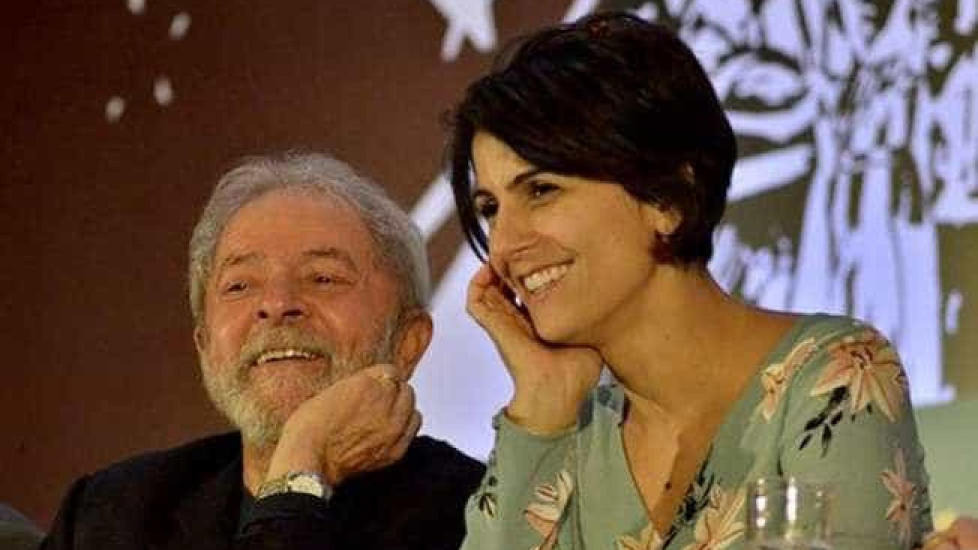 PT cogita usar somente imagem de Lula e Manuela em material de campanha