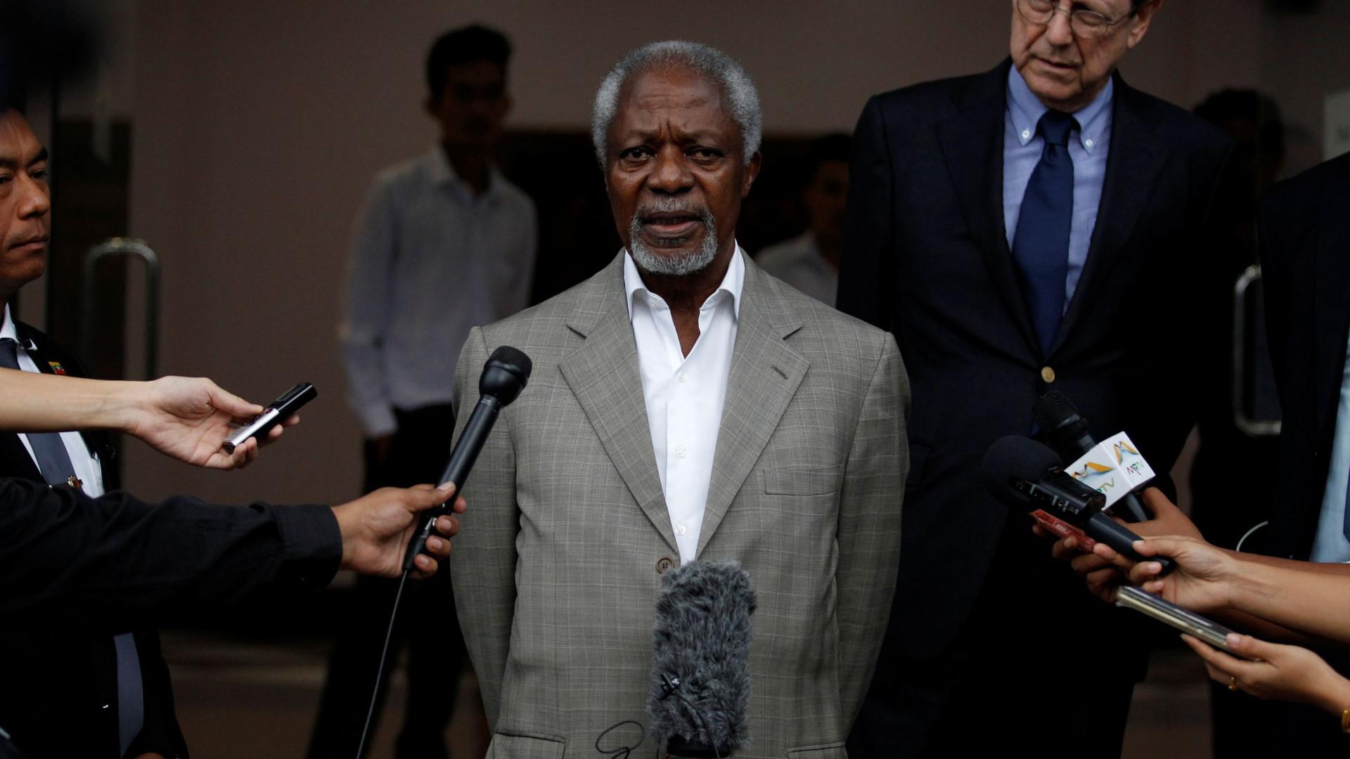Kofi Annan viveu um dos períodos mais turbulentos da ONU