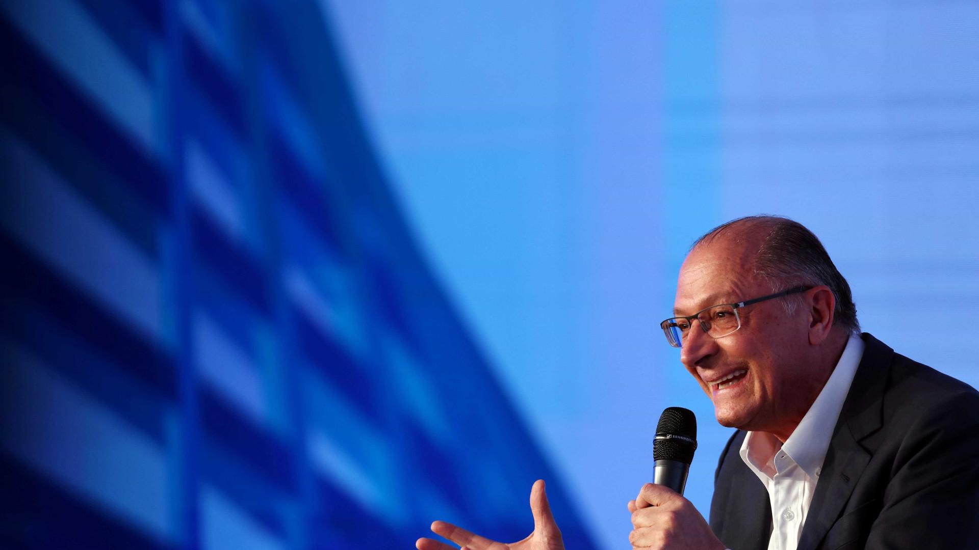 Tapetão puro, diz Alckmin sobre pedido de impugnação de sua coligação