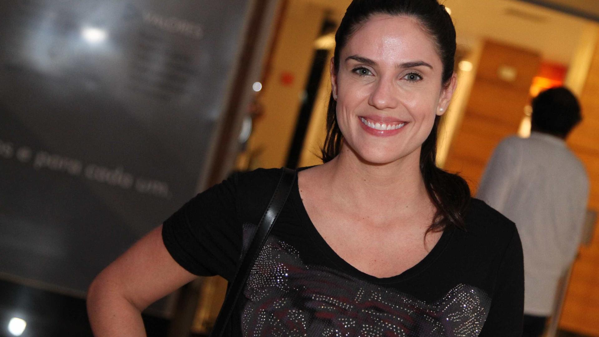 Faustão provoca Rafaela Mandelli após 12 anos na Record: 'Congelada'