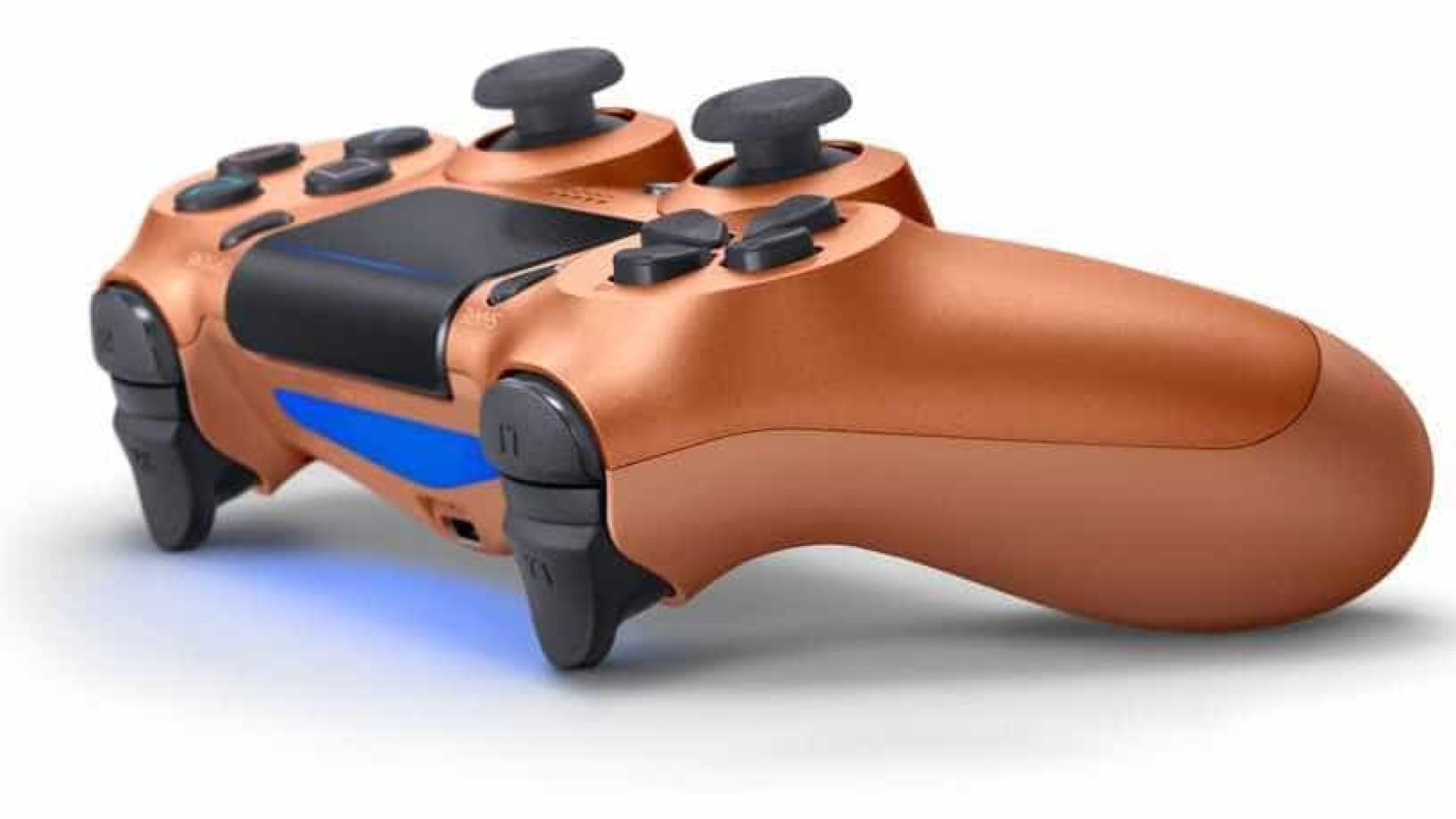 Sony revela 4 cores novas eletrizantes para controle do PlayStation