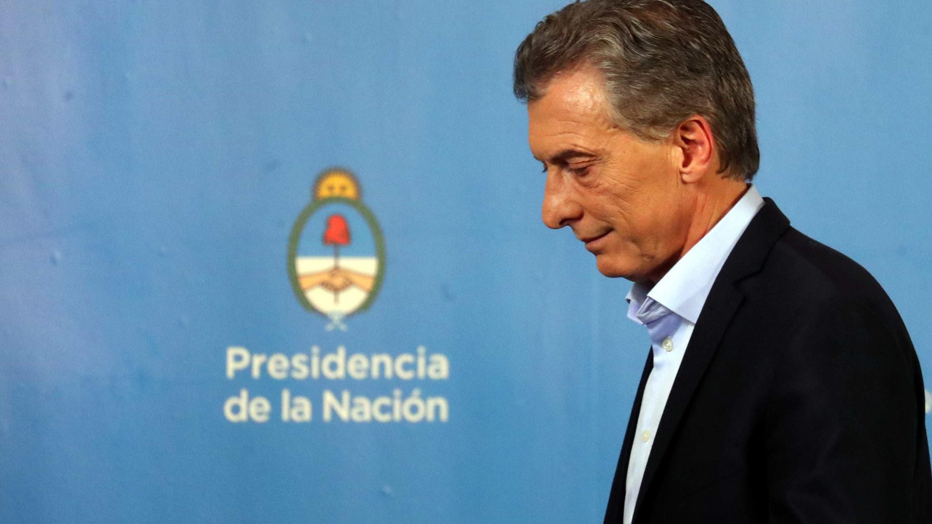 FMI prevê queda de 0,26% na economia argentina em 2018