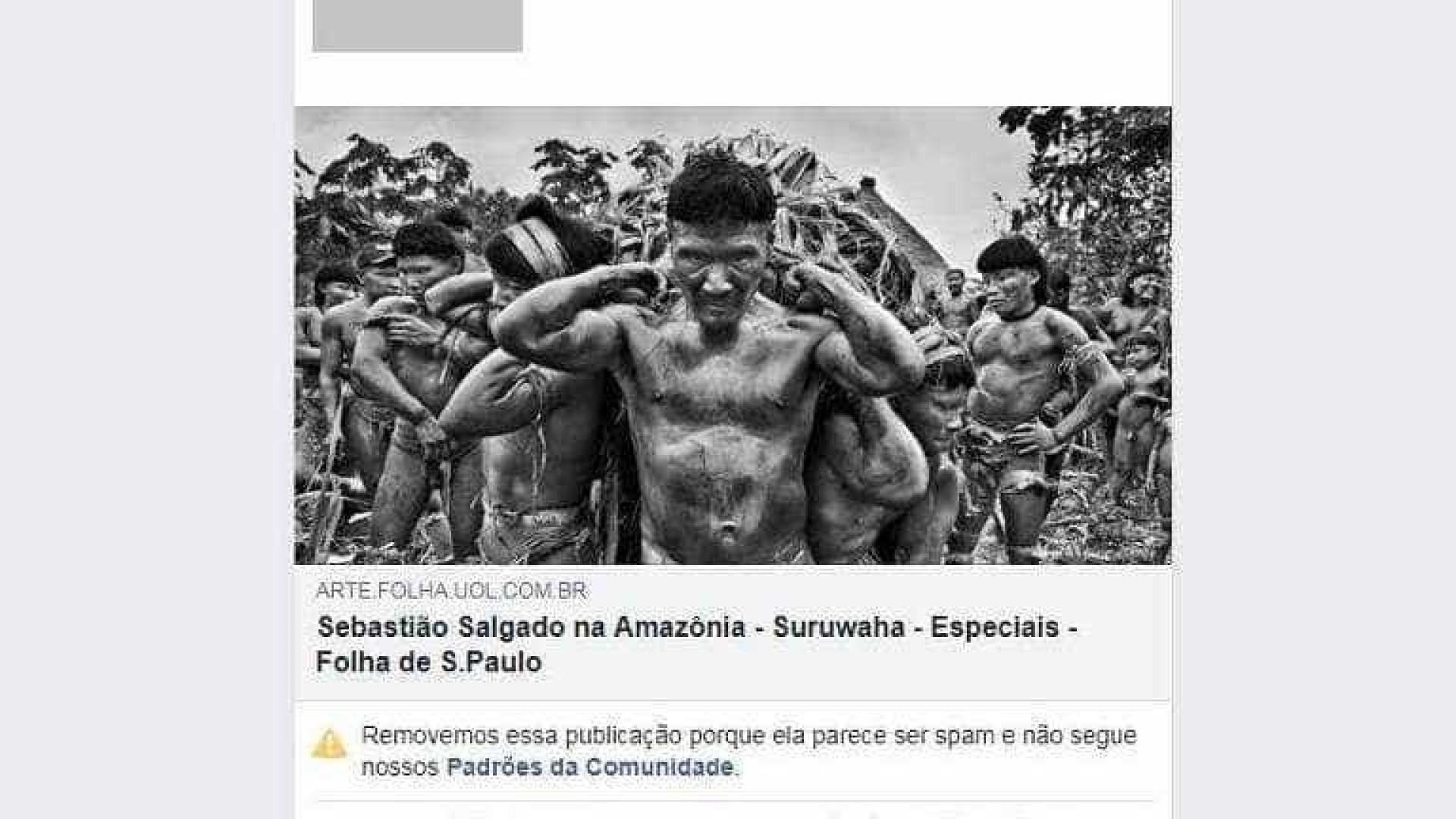 Facebook censura fotos de cineasta de tribo indígena da Amazônia