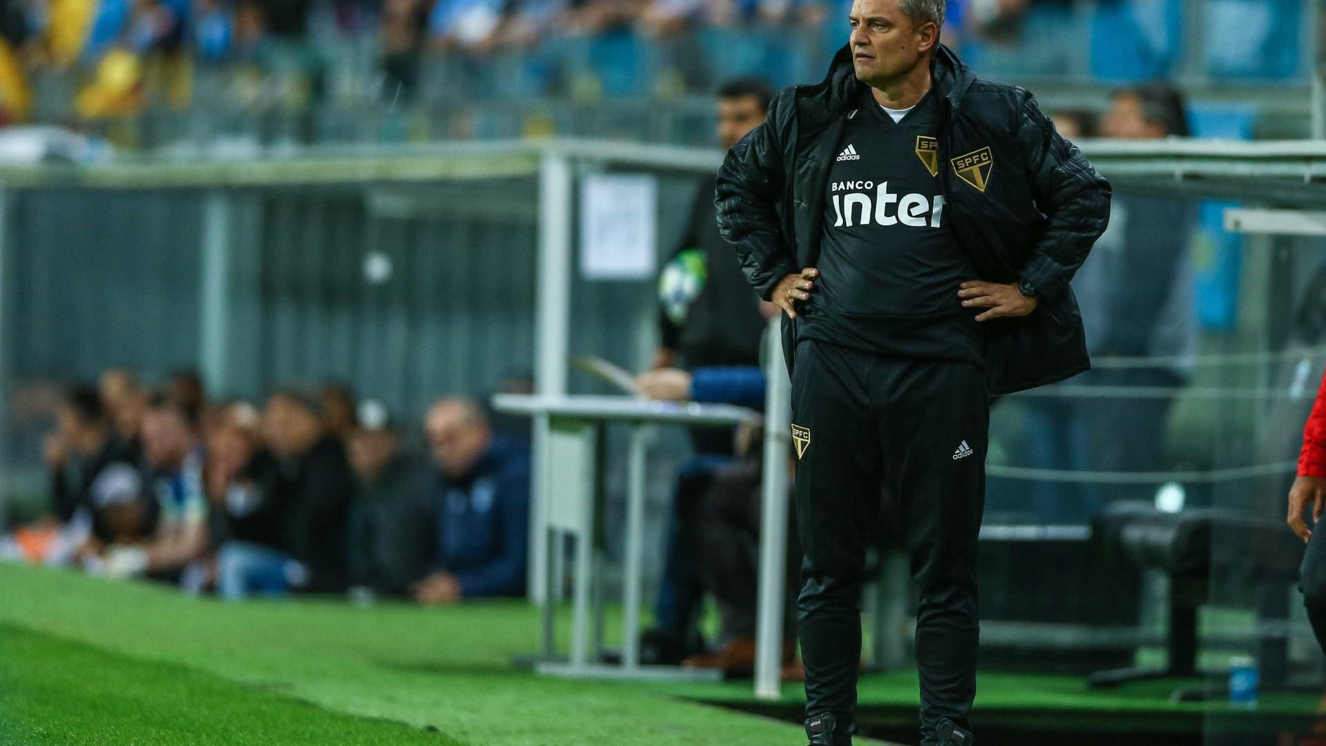 Aniversariante, Diego Aguirre prevê 'jogo espetacular' contra Santos