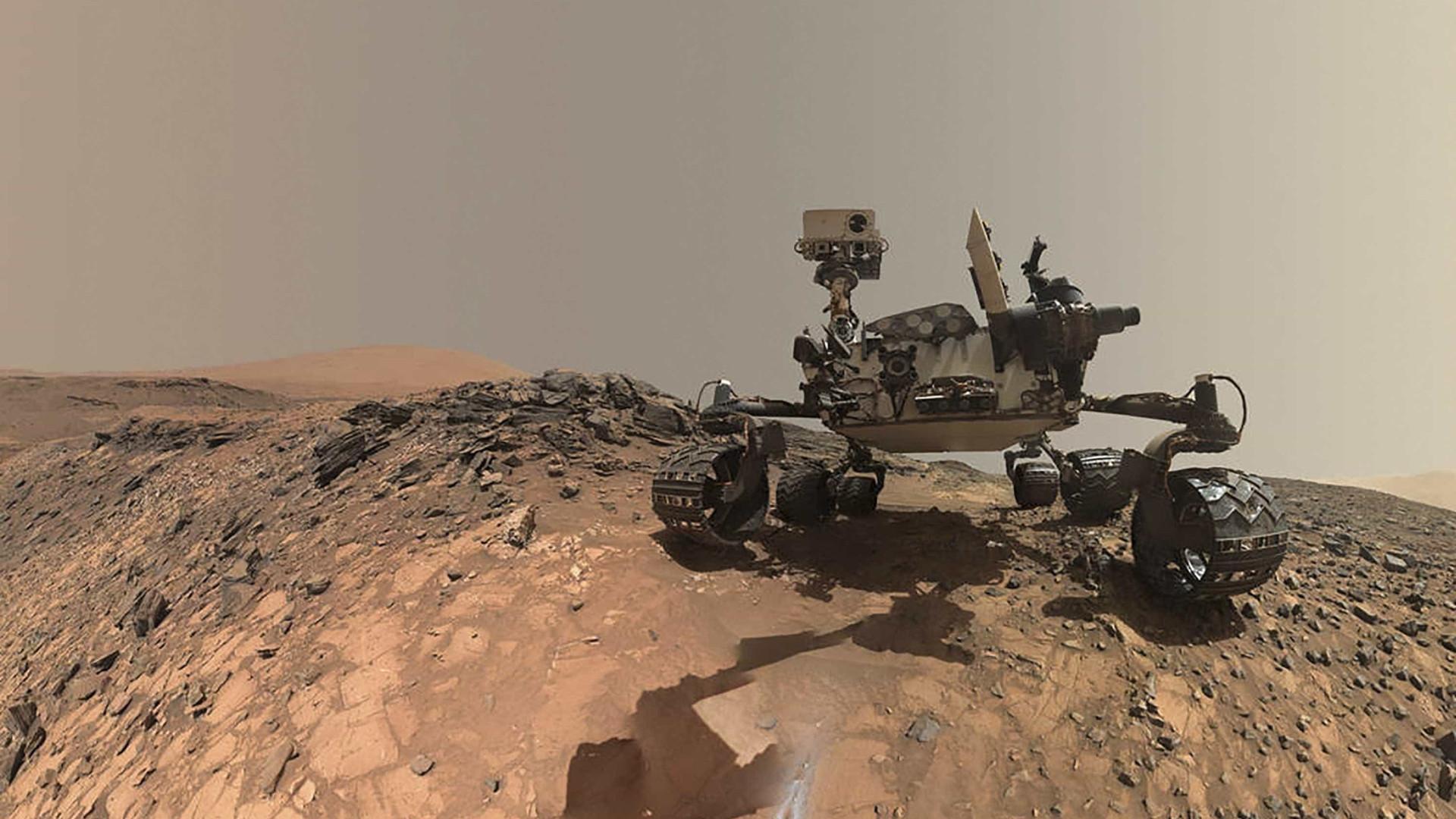 Nasa compartilha foto 360 graus da superfície de Marte