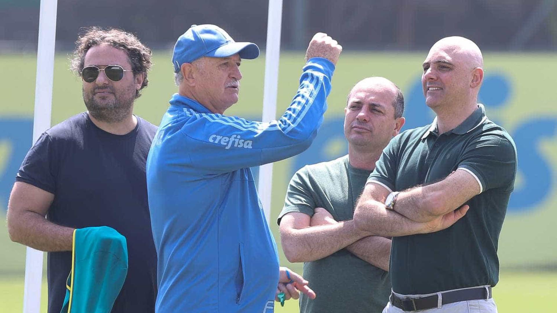 Felipão diz que precisa fazer acertos nos bastidores do Palmeiras