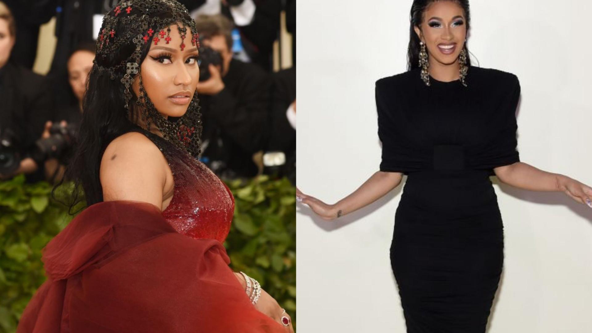 Nicki Minaj quebra silêncio após barraco com Cardi B