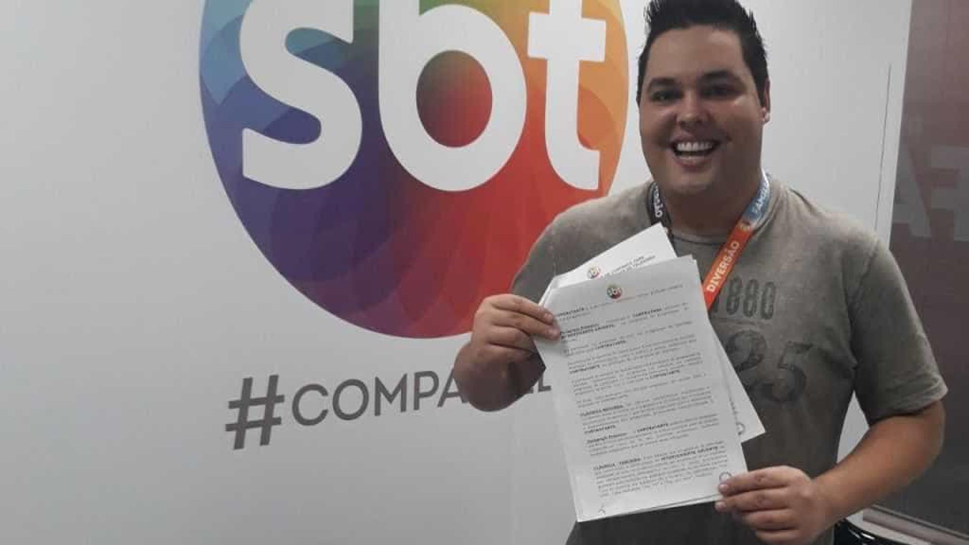 Repórter do SBT processa Pr. Valdomiro Santiago e pede R$ 48 milhões