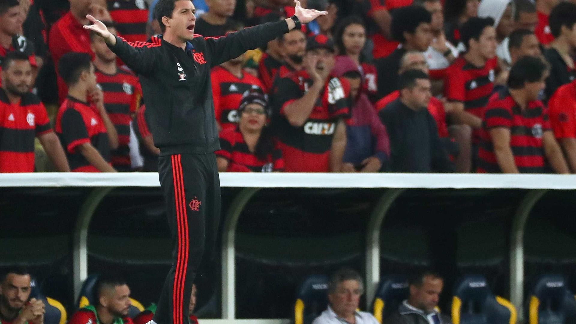 Barbieri espera acertar o Flamengo após clássico contra o Vasco