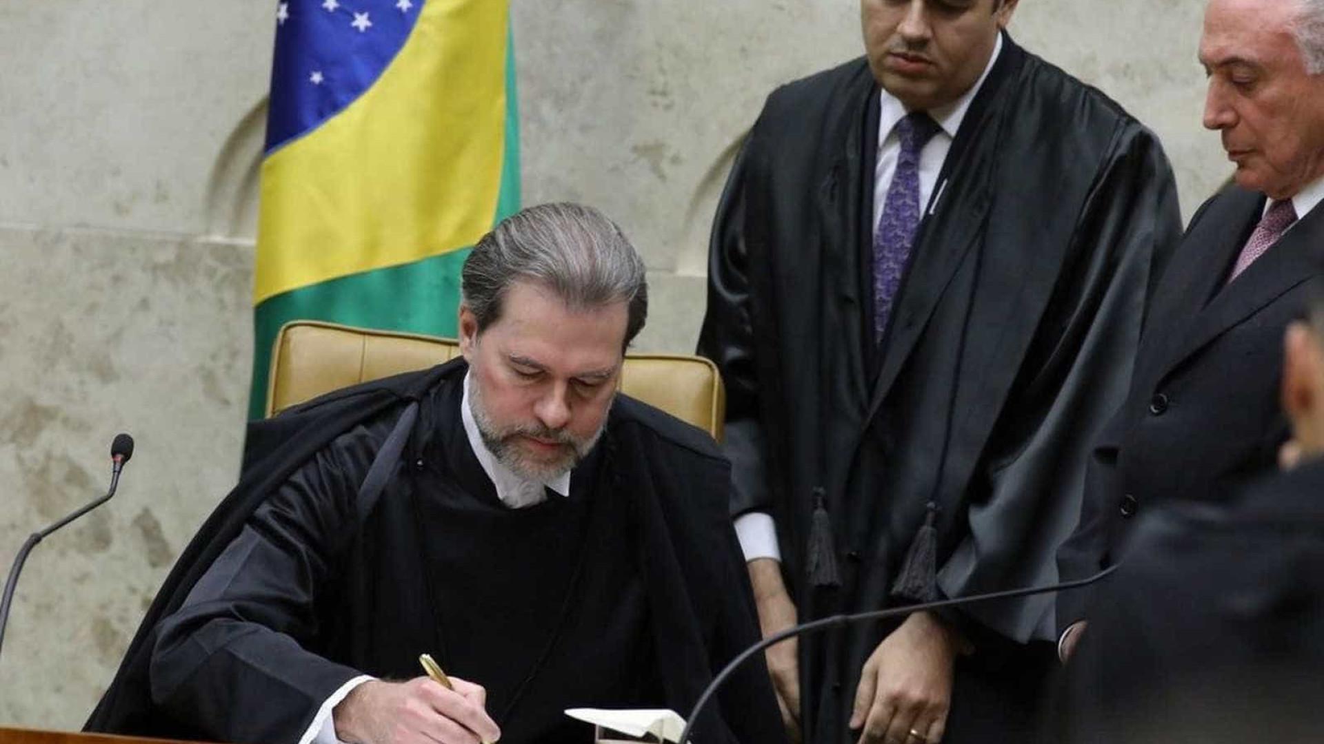 Ministro Dias Toffoli assume presidência do Supremo