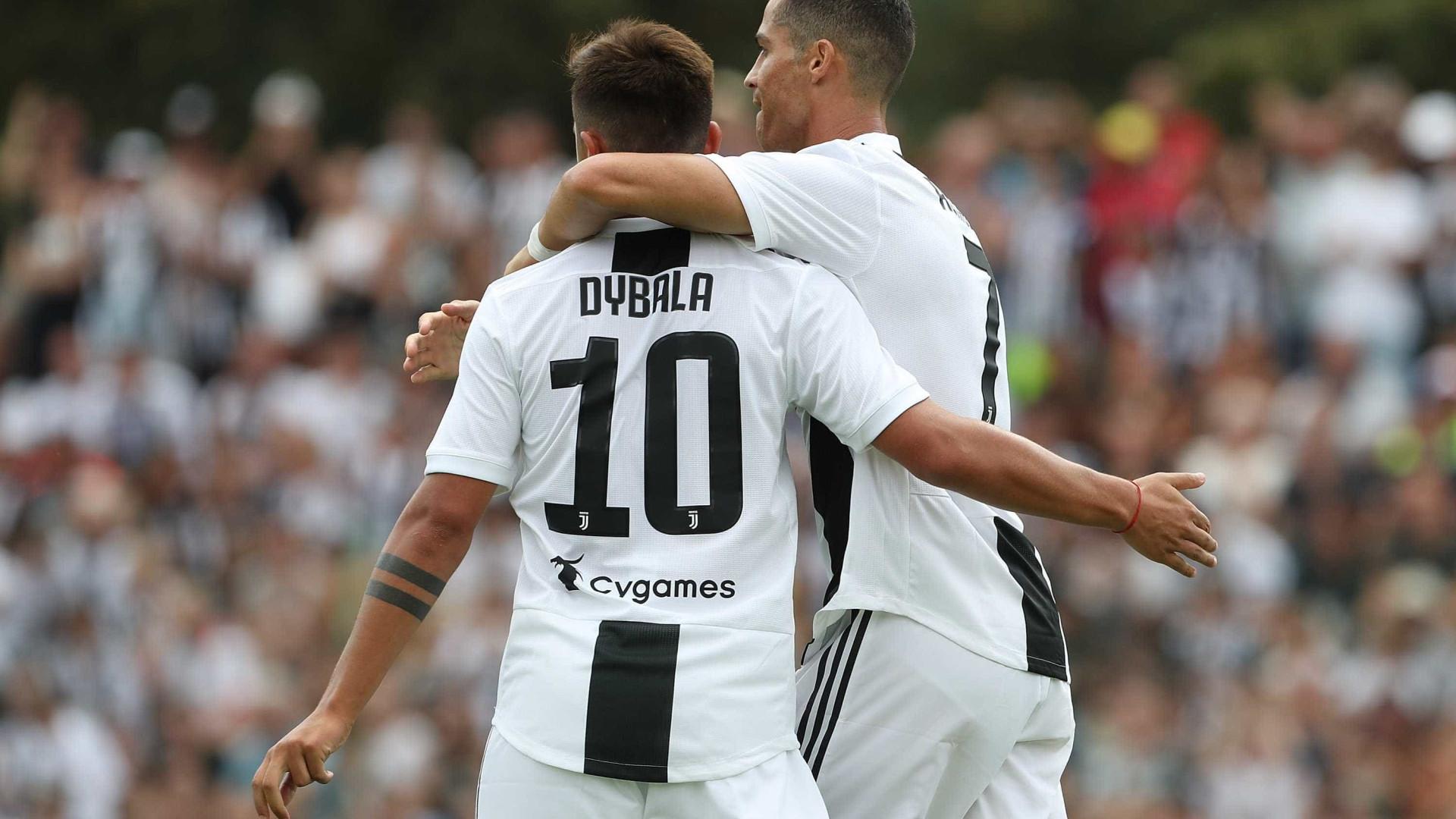 Pirlo aconselha Dybala a seguir Cristiano Ronaldo como exemplo