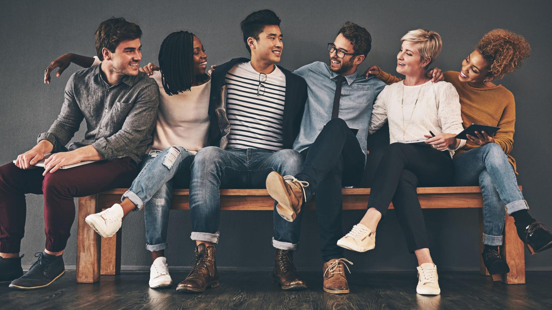 Somos todos diferentes, mas há apenas quatro tipos de personalidades