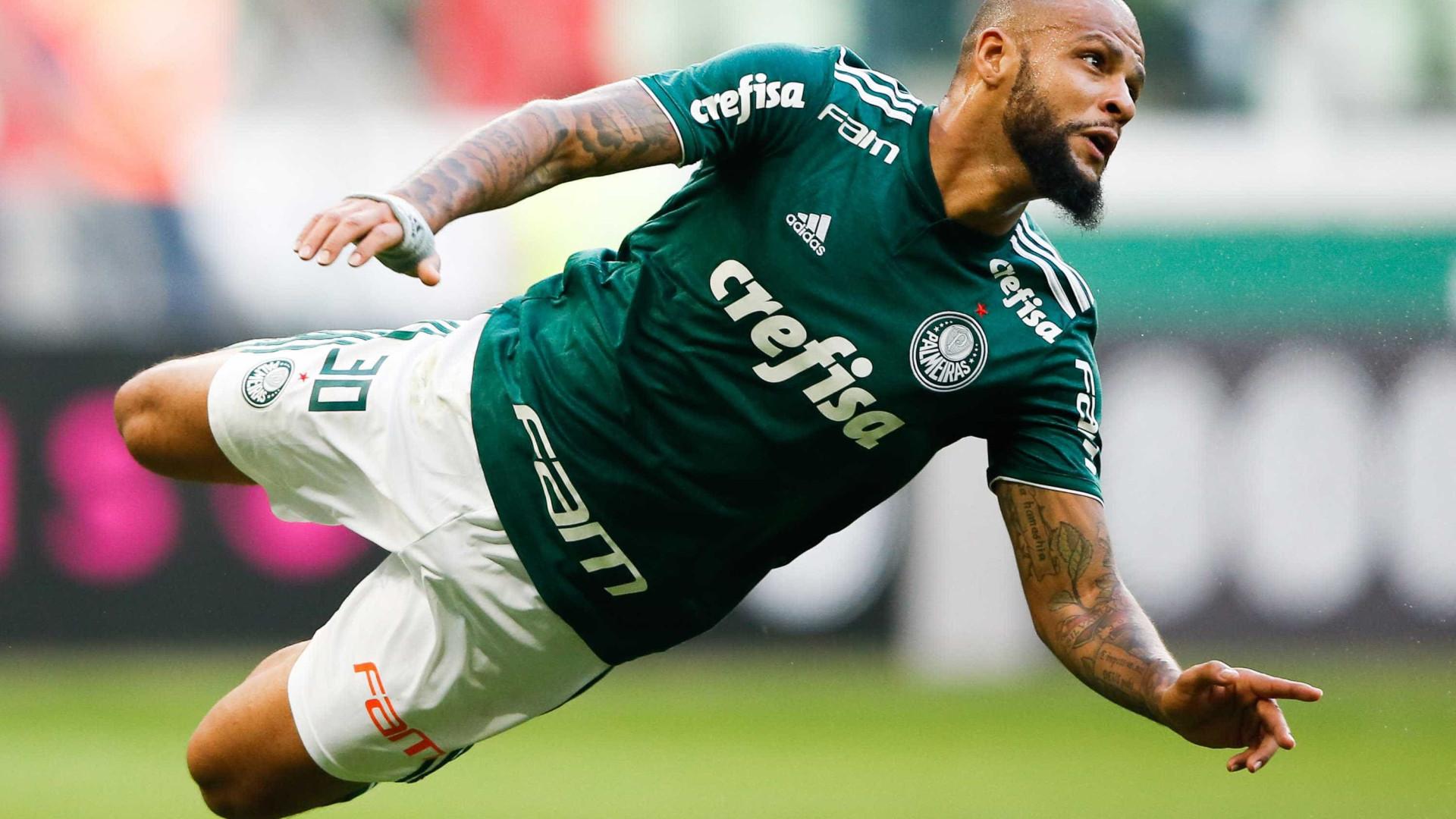 Conmebol suspende Felipe Melo por mais um jogo, mas libera Deyverson