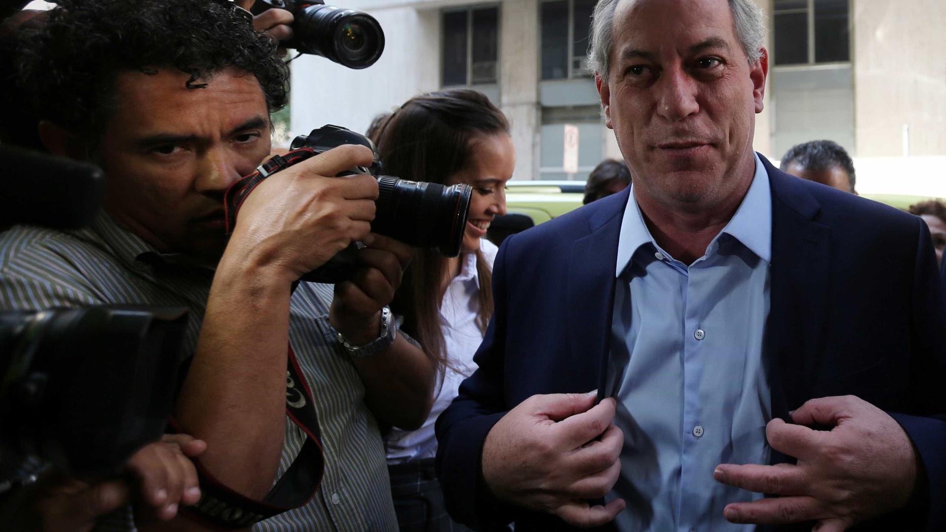 Ciro não pretende reforçar publicamente apoio a Haddad