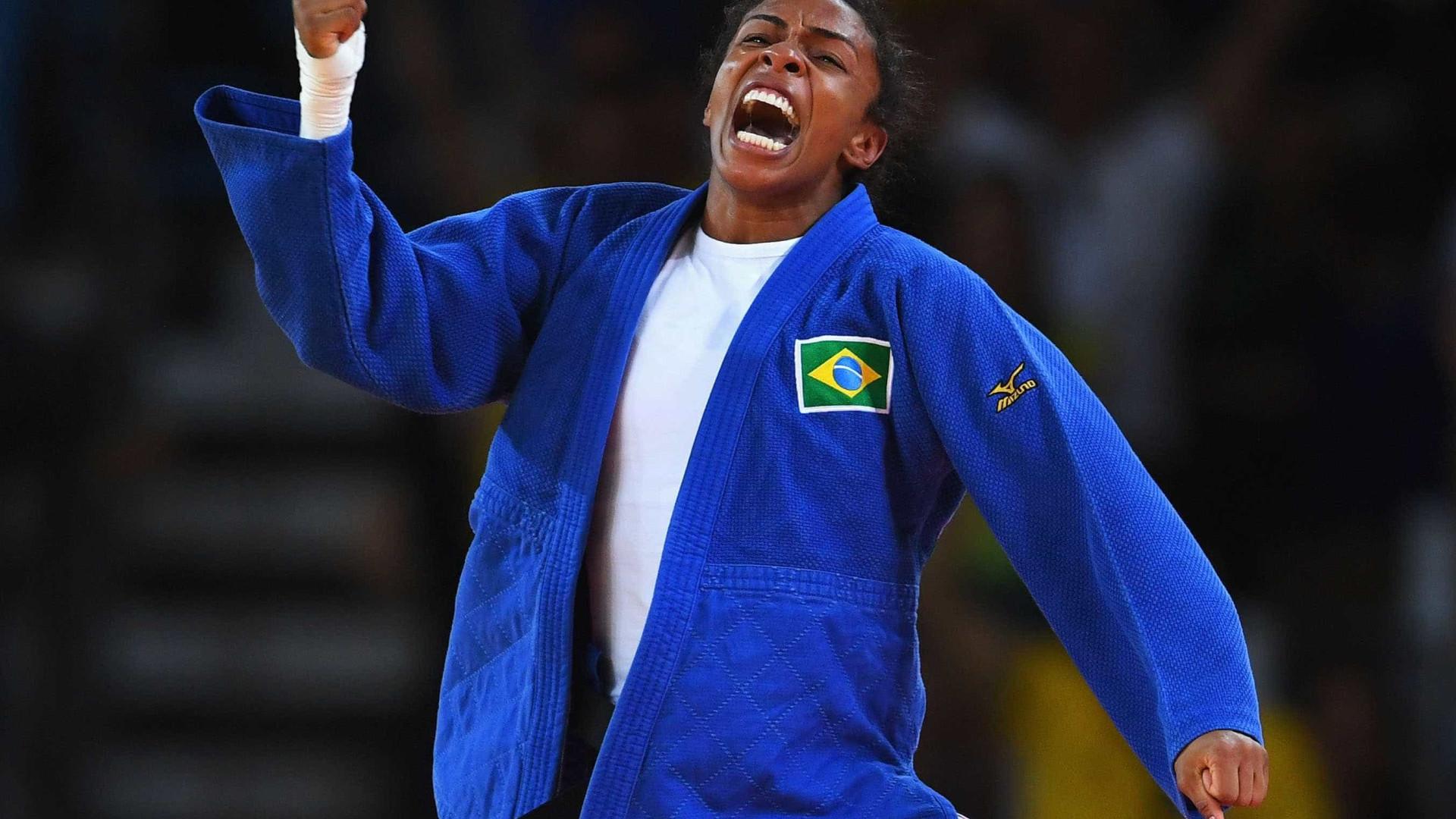 Érika Miranda ganha bronze e fatura quinta medalha em Mundiais de judô