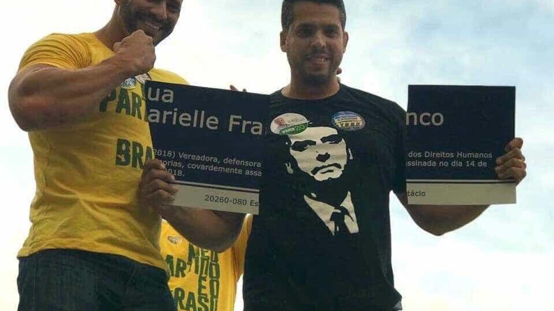 Apoiadores de Bolsonaro quebram homenagem feita a Marielle Franco