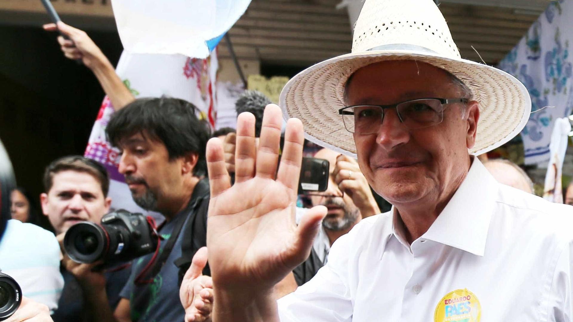 Estratégia se frustra, e Alckmin chega à reta final encolhido