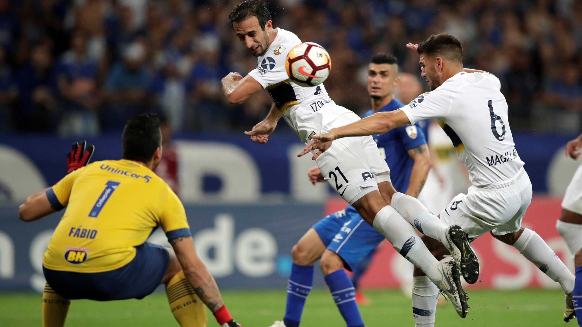 Cruzeiro fica no empate com Boca Juniors e está fora da Libertadores