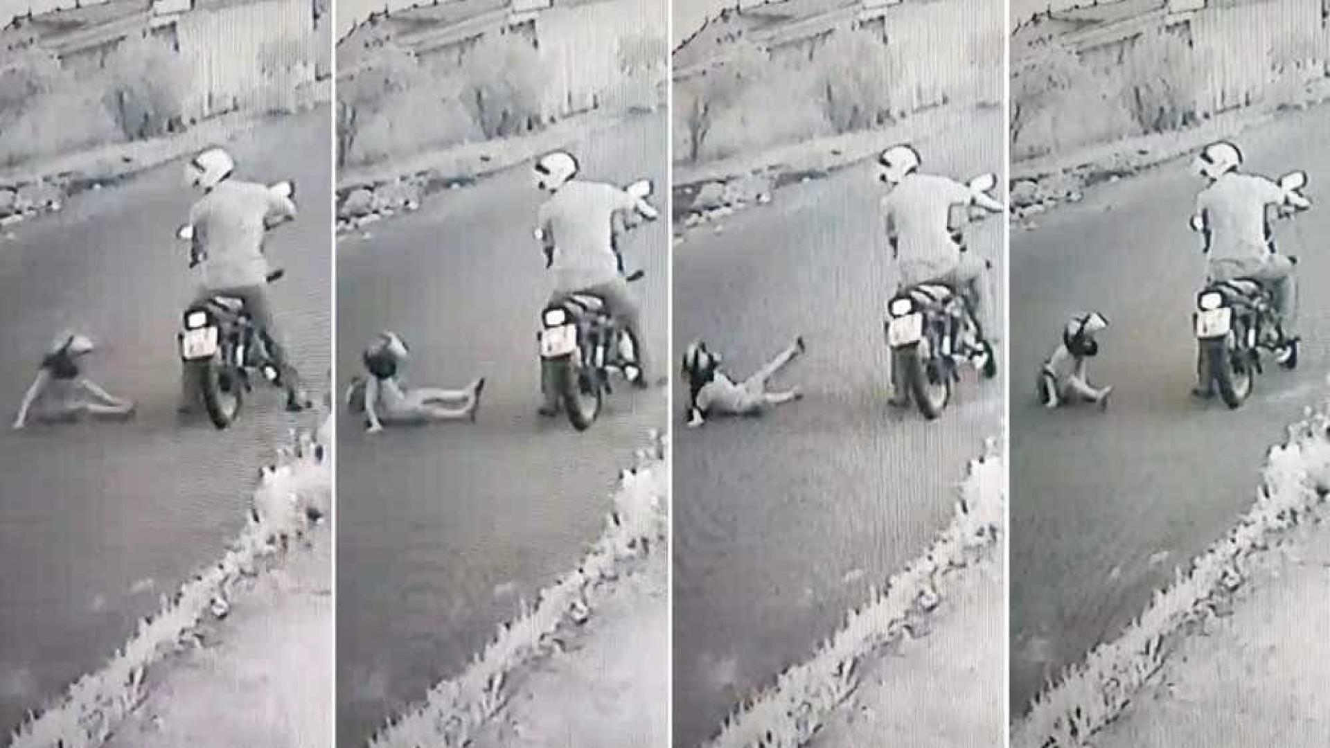 Homem é flagrado agredindo enteado de 4 anos em SP; vídeo